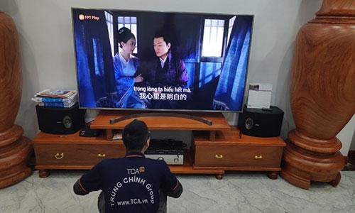 Dàn âm thanh KARAOKE gia đình giá rẻ 49tr: TCA-GD49