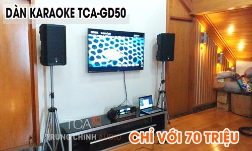 COMBO KARAOKE GIA ĐÌNH TCA-GD50