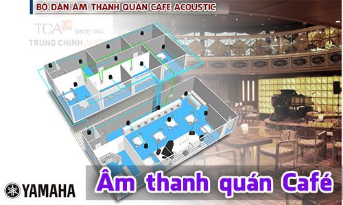 Bộ dàn âm thanh nhạc sống cho quán cafe Acoustic chuyên nghiệp