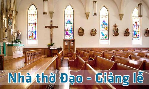 Giải pháp hệ thống âm thanh TOA cho nhà thờ, giảng lễ