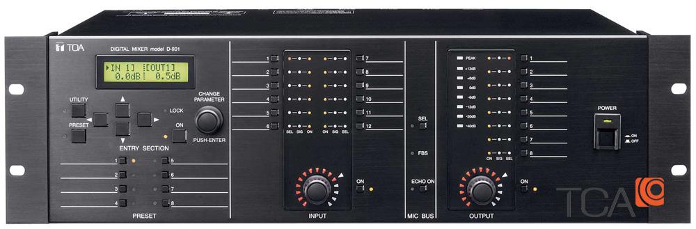5 cách nhanh nhất để lập trình Mixer kỹ thuật số D-901