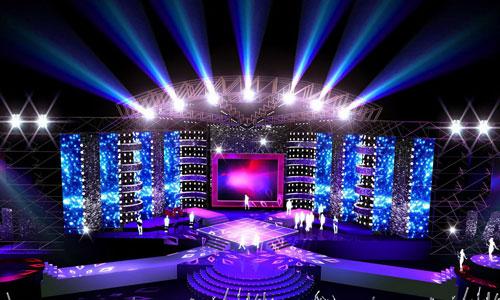 Đèn led trang trí sân khấu