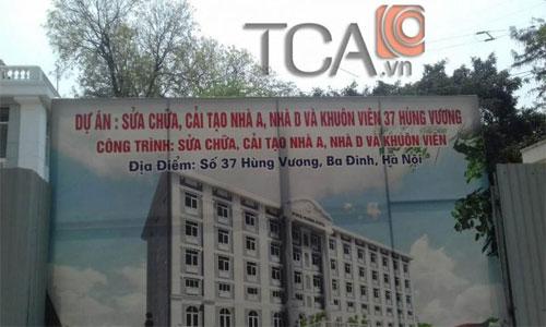Công Trình Hệ thống thông báo TOA FV-200 tòa nhà A và D số 37 Hùng Vương
