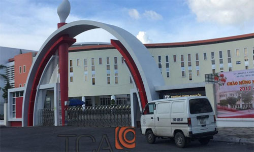 Thi Công Hệ thống thông báo khẩn cấp TOA FV-200: Trường THPT chuyên Trần Phú Hải Phòng
