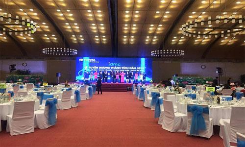 Nguyên tắc sắp đặt thiết bị ánh sáng cho trung tâm hội nghị