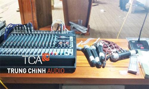 âm thanh sân khấu hội trường : Công An tỉnh Tuyên Quang