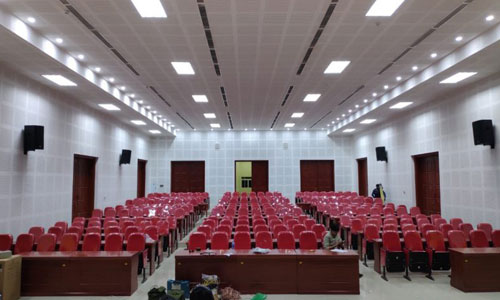 ÂM THANH HỘI TRƯỜNG - Trường Đào tạo cán bộ Nguyễn Văn Cừ - Quảng Ninh
