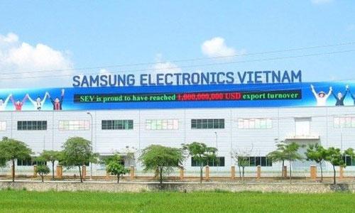 Hệ thống âm thanh thông báo nhà máy, nhà xưởng: Samsung Việt Nam