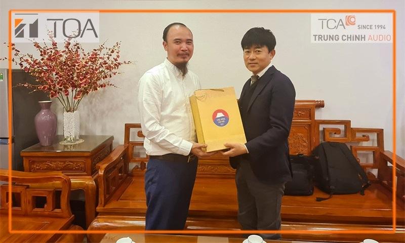 TOA chúc tết, nói chuyện cuối năm tại trụ sở TCA Hà Nội