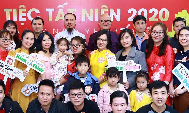 Tiệc tất niên 2020 tại Hà Nội