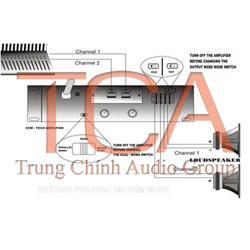 Tìm hiểu về công suất trong âm thanh-Power ( main), cục đẩy