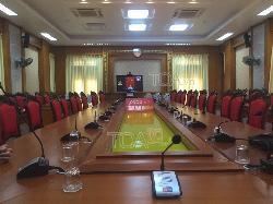 Hệ thống âm thanh phòng họp: hội thảo , hôi nghị bàn công vụ CÔNG AN HẢI DƯƠNG