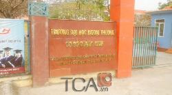 Âm thanh hội thảo TOA TS-800: Đại học Ngoại Thương cơ sở Quảng Ninh