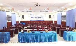 Âm thanh hội thảo Bosch CCS-1000 phòng họp công ty tỉnh Tuyên Quang