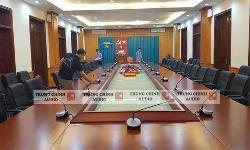 Âm thanh TOA TS-780 phòng họp hội thảo, hội nghị các cơ quan, công ty tại Quảng Ninh