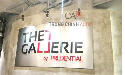 hệ thống âm thanh hội trường tại công ty Prudential – Hà Nội