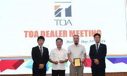 TCA vững vàng đứng Top đại lý TOA 2019