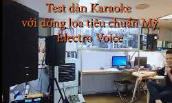 LOA KARAOKE EV ELX200-10 , 12,15 : Dòng Loa karaoke cao cấp cho gia đình