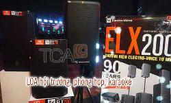 LOA EV ELX200-10, 12, 15: Dàn âm thanh hội trường, phòng họp, karaoke