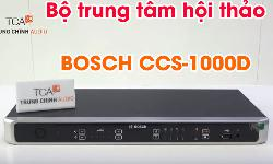 Bộ trung tâm hội thảo Bosch CCSD-CURD: hệ thống phòng họp CCS-1000D