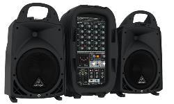 Bộ dàn Loa Karaoke di động BEHRINGER EUROPORT PPA500BT