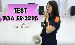 Megaphone TOA ER-2215: Loa phóng thanh cầm tay