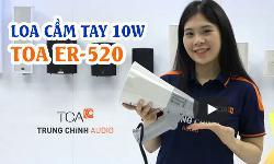 Megaphone TOA ER-520: Loa cầm tay phát thanh