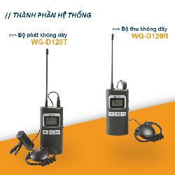 Hệ thống không dây TOA WG-D120T / WG-D120R