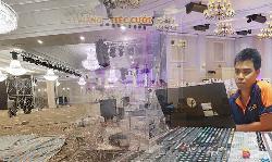 Dàn âm thanh sân khấu hội trường cho nhà hàng tiệc cưới
