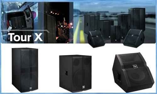 Electro Voice Tour X: Loa sân khấu, hội trường