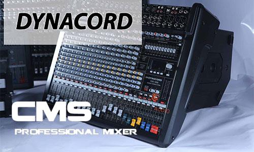 Dynacord CMS: Mixer sân khấu, hội trường, karaoke