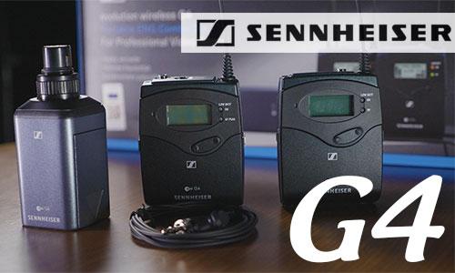 Sennheiser G4: Micro sân khấu, karaoke, hội trường