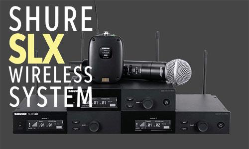 Shure SLX: Micro hội trường, phòng họp, karaoke