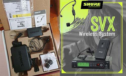 Shure SVX: Micro hội trường, phòng họp, karaoke