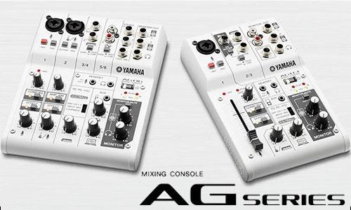 Yamaha AG: mixer sân khấu, hội trường, karaoke