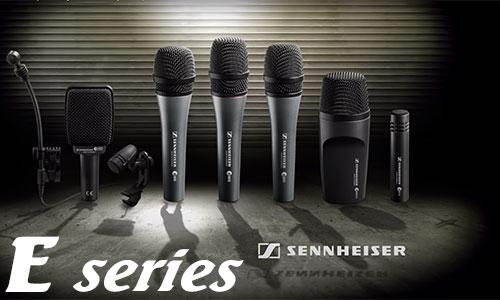 Sennheiser E: Micro sân khấu, hội trường, karaoke