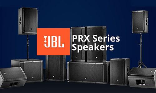 JBL PRX: Loa hội trường, sân khấu, karaoke