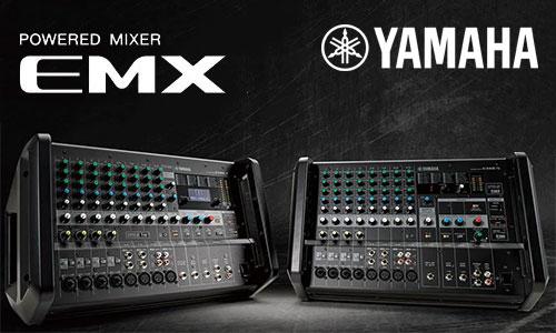Yamaha EMX: Mixer sân khấu, hội trường, karaoke