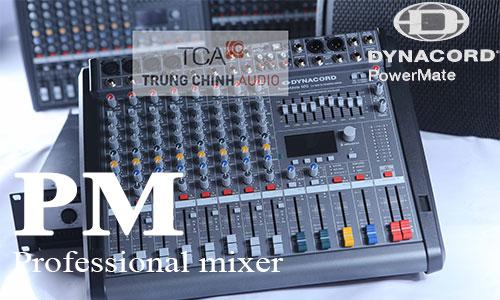 Dynacord PM: Mixer sân khấu, hội trường, karaoke
