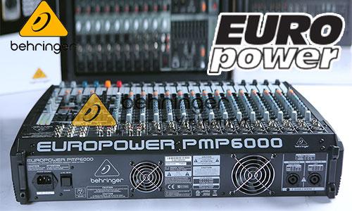 Behringer Europower: Mixer sân khấu, hội trường, karaoke