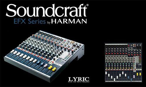 SoundCraft EFX: Mixer sân khấu, hội trường, karaoke