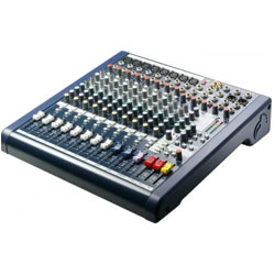 Mixer SoundCraft MFX 8/2i