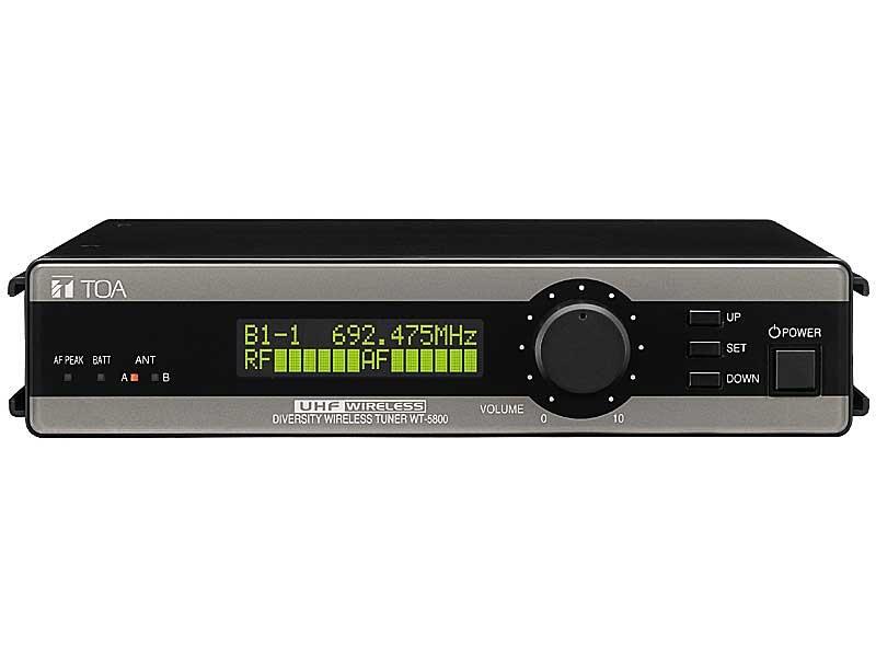 KHỐI THU KHÔNG DÂY UHF 64CH TOA WT 5800
