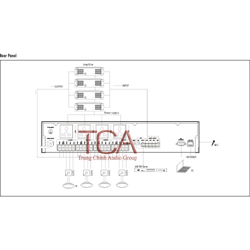 Itc T-6701 Rack Mount Network Audio Adapter