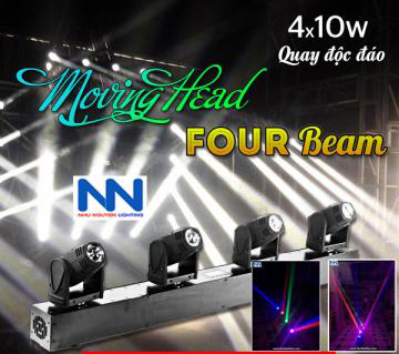 Đèn Moving 4 beam mini