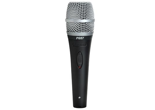 Shure PG57-XLR : Micro có dây dành cho nhạc cụ