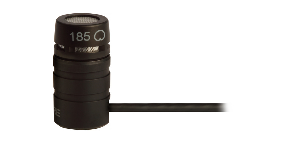 Shure WL185 : Đầu micro cài áo