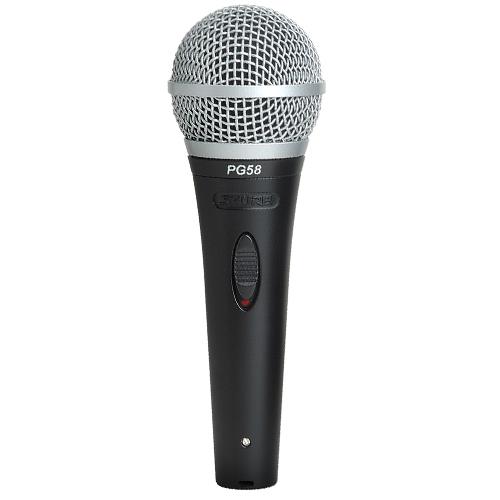 Shure PG58-QTR : Micro cầm tay có dây