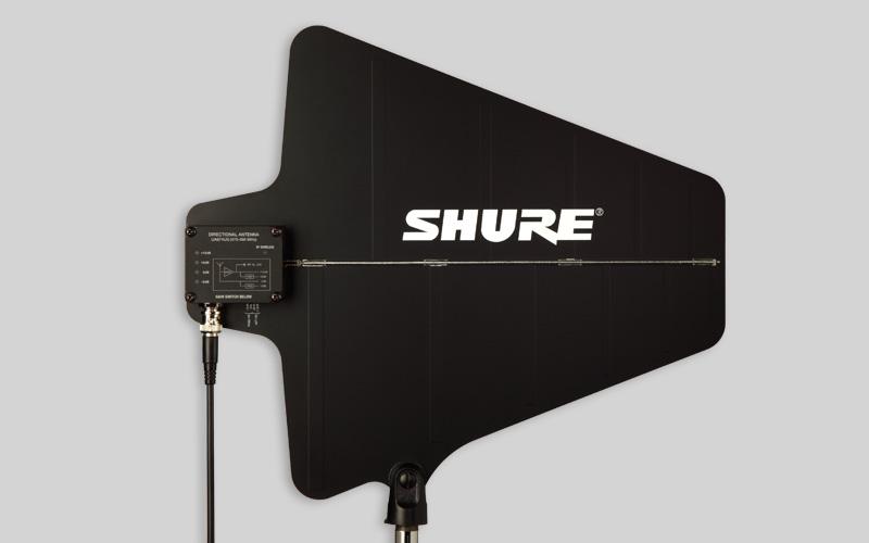 Shure UA874 UHF : Định hướng hoạt động ăng ten