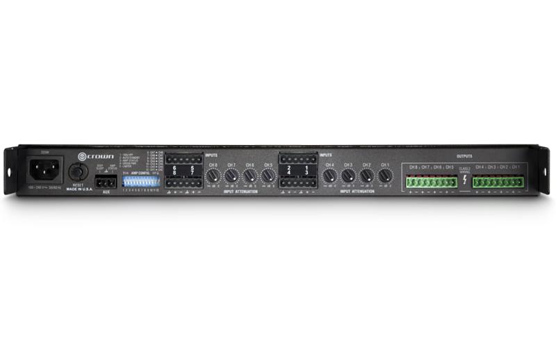 Crown CT 875 : Bộ khuếch đại công suất 8 kênh